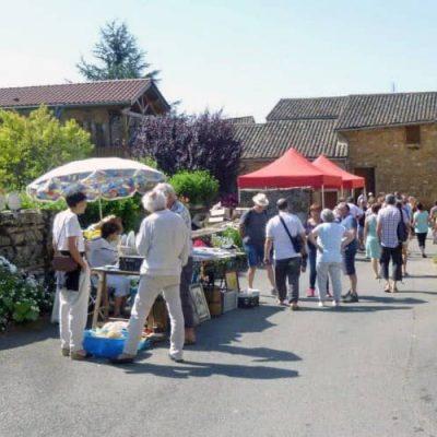 Journée Puces Brocante à Berzé-la-Ville