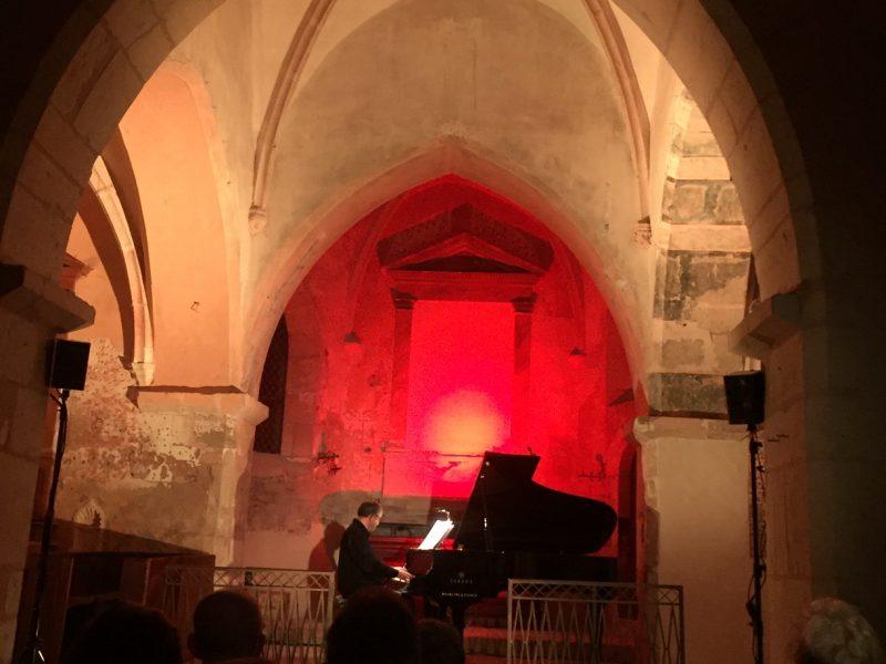 Un très beau concert à l'église de Berzé la Ville,  le 18 septembre