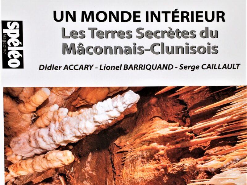 Une  publication remarquable sur les grottes du Mâconnais-Clunisois